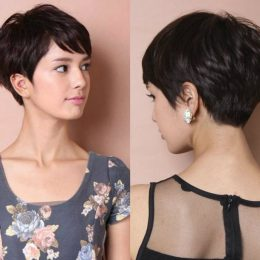 How to cut a pixie haircut with scissors