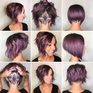 stacked bob tutorial